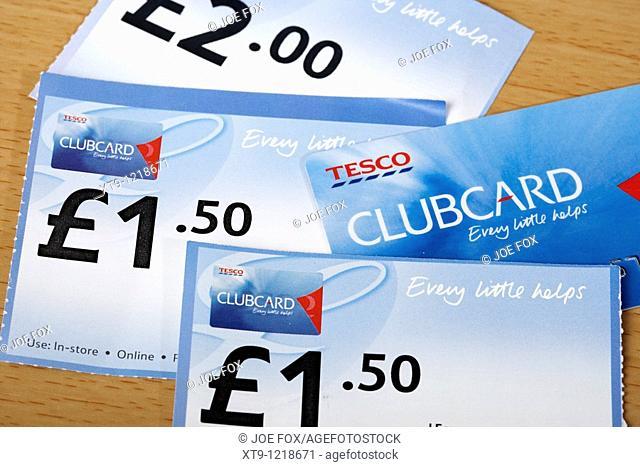 tesco clubcard and clubcard vouchers