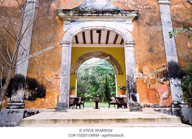 Hotel Hacienda Uayamon room entrance