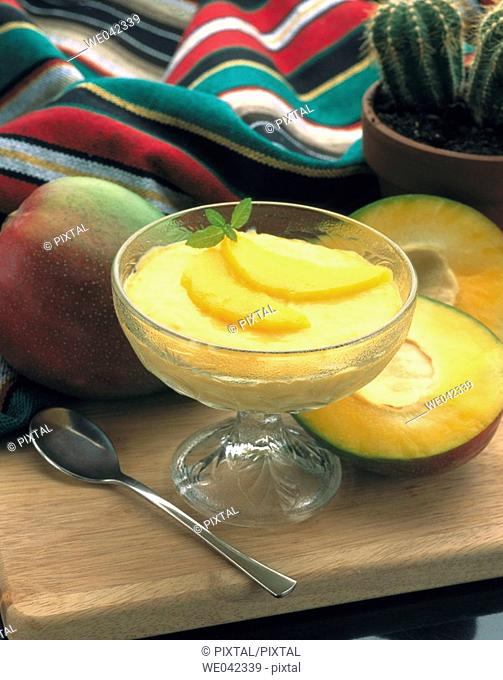 Mango cream, Tex-Mex cuisine