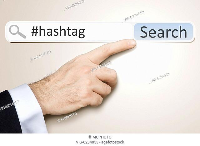 An image of a man who is searching the web hashtag - 06/06/2010