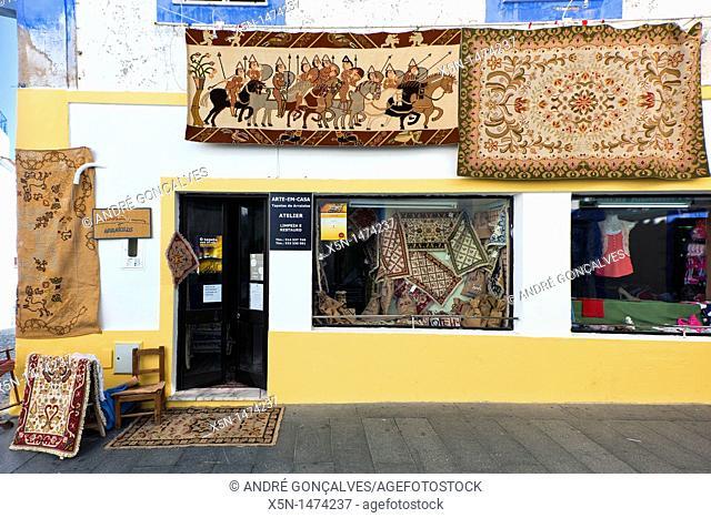 Rugs of Arraiolos Fair, Arraiolos, Alentejo, Portugal, Europe