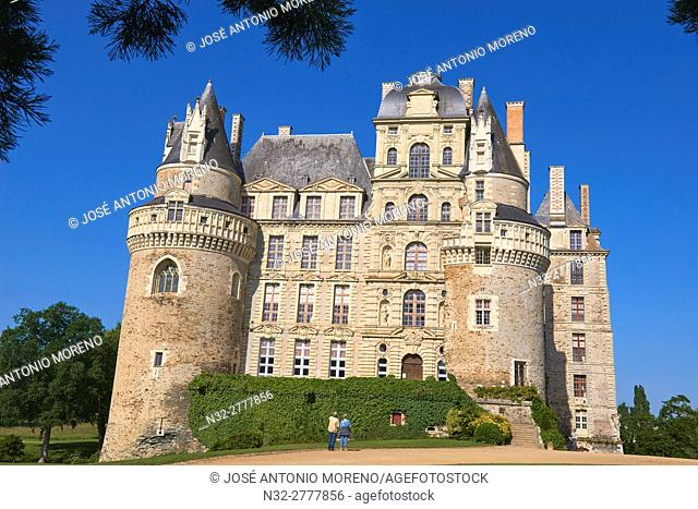 Brissac Castle, Brissac-Quince, Angers District, Maine-et-Loire department, Pays de la Loire, Loire Valley, UNESCO World Heritage Site, France, Europe