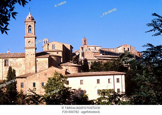 Montepulciano. Toscana. Italy