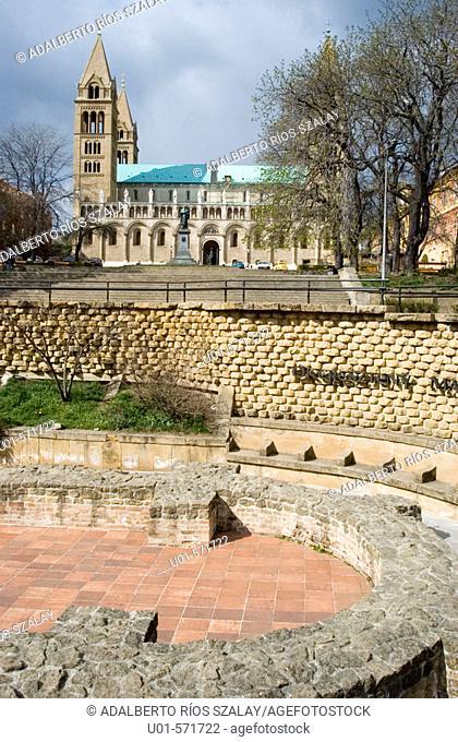 Roman Ruins Pecs Hungary