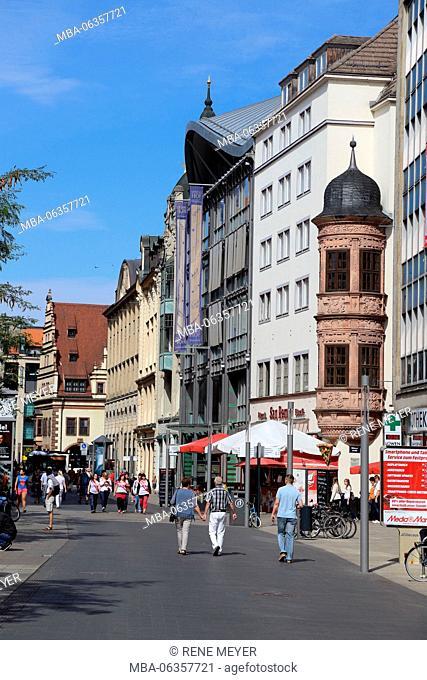 Leipzig Grimmaische street