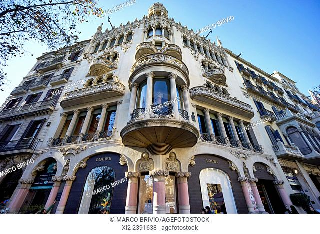 The Casa Lleo Morera is a building designed by noted modernisme architect Lluis Domènech i Montaner, located at Passeig de Gracia 35 in the Eixample district of...