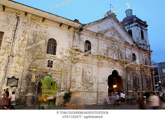 basilica minore del santo nino cebu city philippines