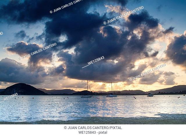 Laredo beach. Cantabria. Spain. Europe