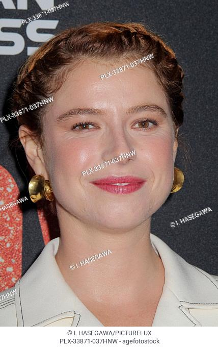 """Jessie Buckley 09/19/2019 The Los Angeles Premiere of """"""""JUDY"""""""" held at the Samuel Goldwyn Theater in Beverly Hills, CA. Photo by I"""