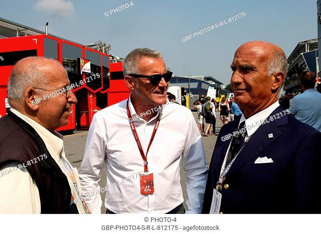 02.09.2016 - Free Practice 1, (C-R) Marcello Lotti (ITA) CEO WSC and Dr. Angelo Sticchi Damiani (ITA) Aci Csai President