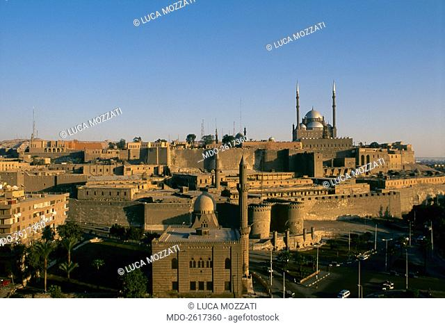 The Saladin Citadel, by Ayyubid craftsmen, 969-1184, 10th-11th Century, sandstone. Egypt, Cairo. Whole artwork view. The Cairo Citadel