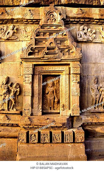 AGNI DEVA IN SWARGABRAHMA TEMPLE, ALAMPUR, ANDHRA PRADESH,INDIA