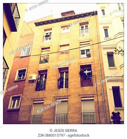 Old house in Madrid, Spain