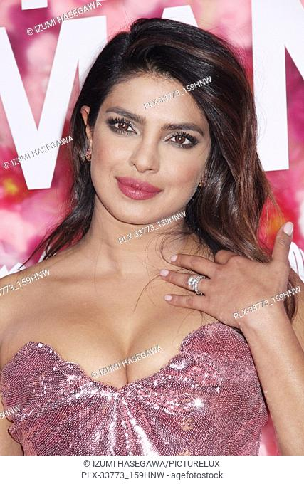 "Priyanka Chopra 02/11/2019 The World Premiere of """"Isn't It Romantic"""" held at the Theatre at Ace Hotel in Los Angeles, CA Photo by Izumi Hasegawa / HNW /..."