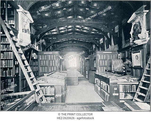 Duke Humphrey's Library, c1902. Artist: Unknown
