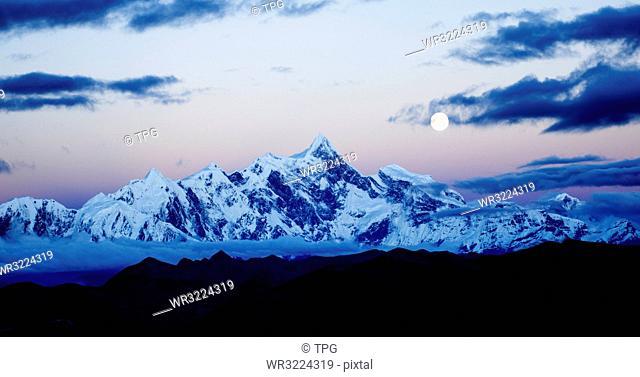 Namcha Barwa, Tibetan Himalaya, Tibet, China