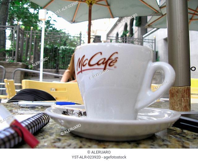 Coffee cup, São Paulo, Brazil