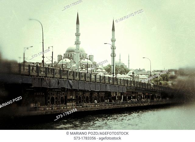 The New Mosque, Istanbul, Turkey, Europe
