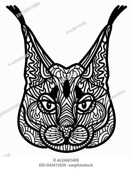 Abstract Design Bobcat Stock Photos And Images