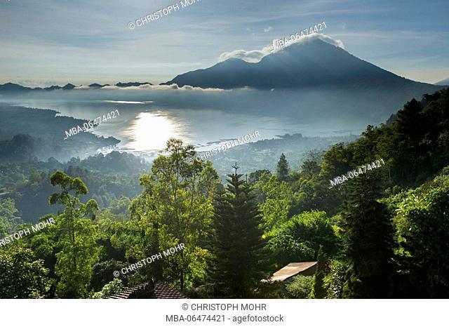 the lake Danau Batur
