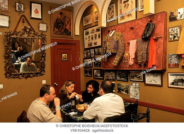 Tapas Bar. Seville. Andalusia. Spain
