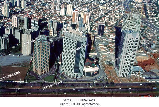 Av Nações Unidas, Brooklin Novo, São Paulo, Brazil, 1995