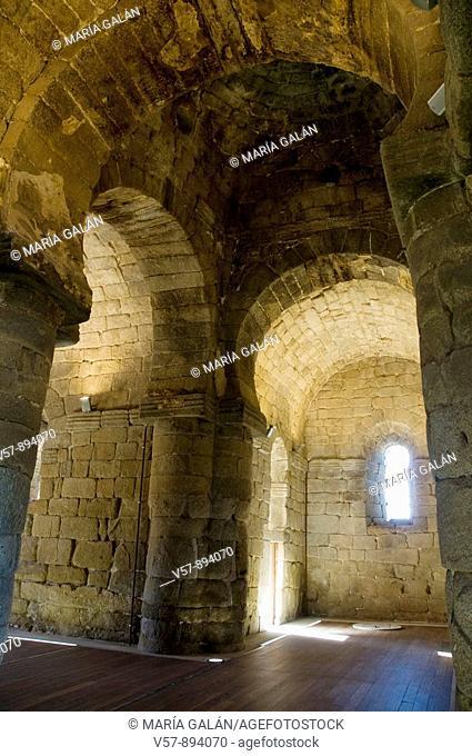 Santa María de Melque church, indoor. Toledo province, Castilla La Mancha, Spain