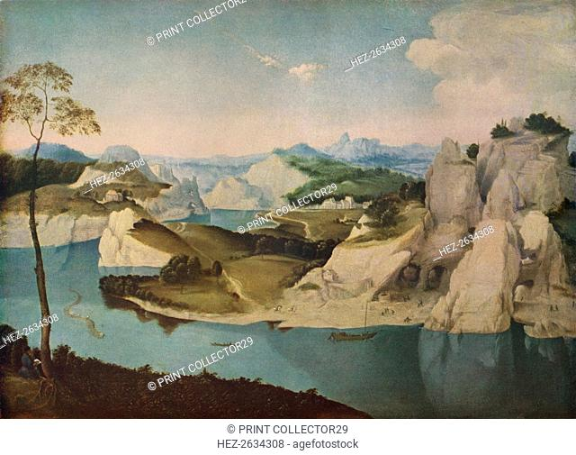 'Landscape: a River among Mountains', c1600. Artist: Unknown