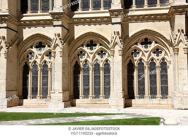 Windows of the cathedral of Burgos, Castilla y Leon, Spain