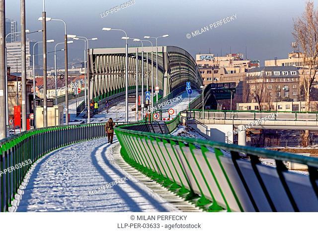 New Bridge, Bratislava - Petrzalka, Slovakia