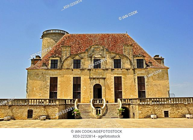 Chateau de Duras, Duras Castle, Duras, Lot-et-Garonne Department, Aquitaine, France