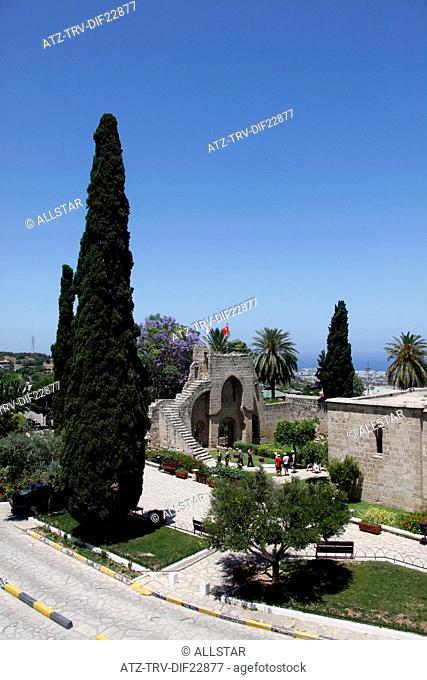 BELLAPAIS ABBEY, MONASTERY; NEAR KYRENIA, CYPRUS; 28/05/2013