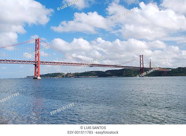 25th April bridge in Lisbon, Portugal