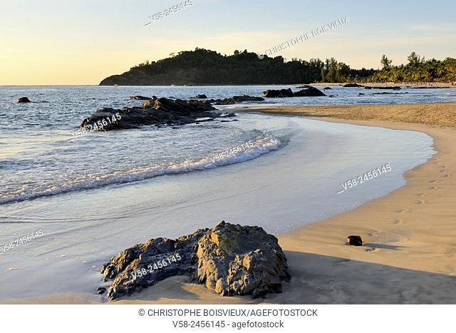 Myanmar, Rakhine State, Ngapali beach