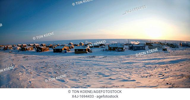Gojahaven is a town in the far north of canada where 1000 IInuits are living During wintertimes the average temperatures are around minus 40 to minus 50 degrees...