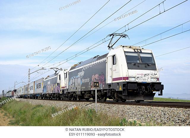 Train, Subirats, Spain