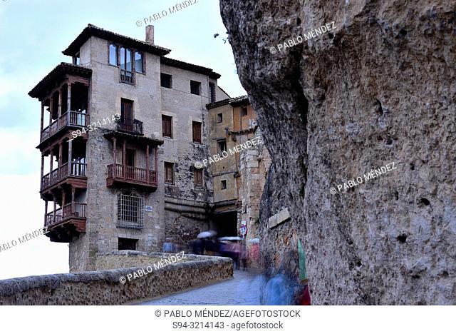 Customary houses of Cuenca, Spain