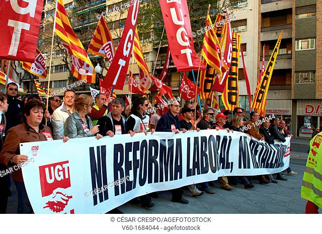 -Demonstrations against Cuts- Tarragona Spain