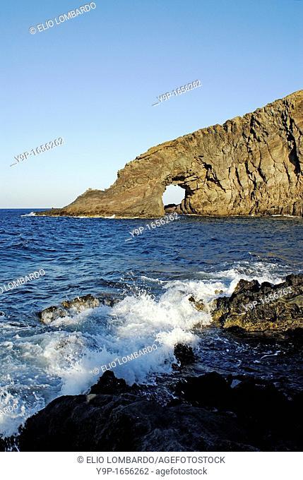 Elephant's Arch, Pantelleria Island, Trapani, Sicily, Italy