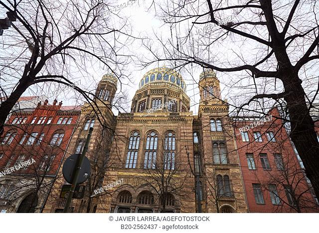 Neue Synagoge, Berlin, Germany
