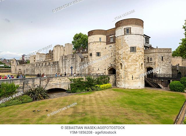 A view of the Tower of London, London, England, UK, Europe