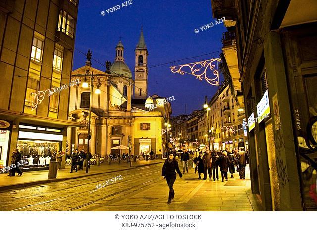Corso Torino, Milan, Lombardy, Italy, Europe