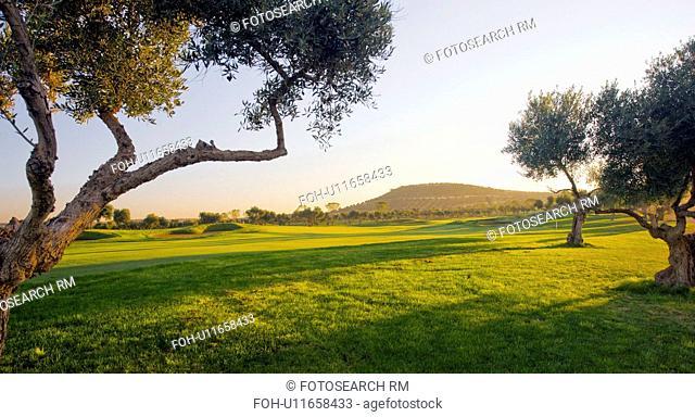 Arcos de la frontera Golf course Southern Spain