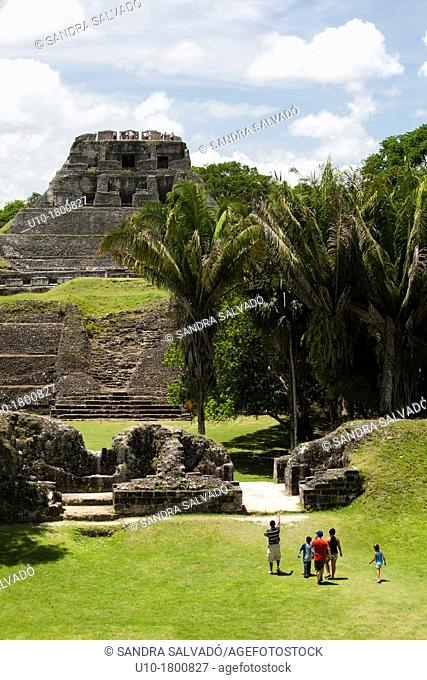 Archeological site Xunantunich, Belize