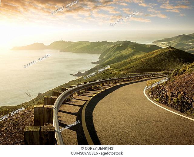 Bonita Cove, Golden Gate National Recreation Area, San Francisco, California, USA