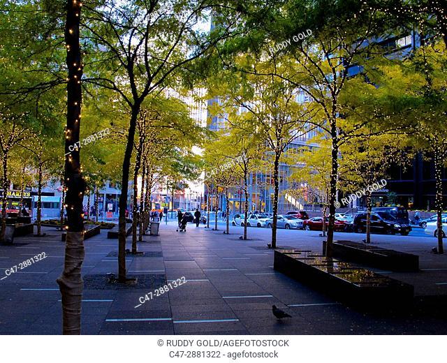 Zuccotu Park, New York City