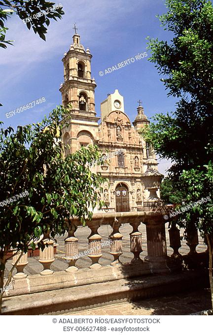 San Marcos temple Aguascalientes