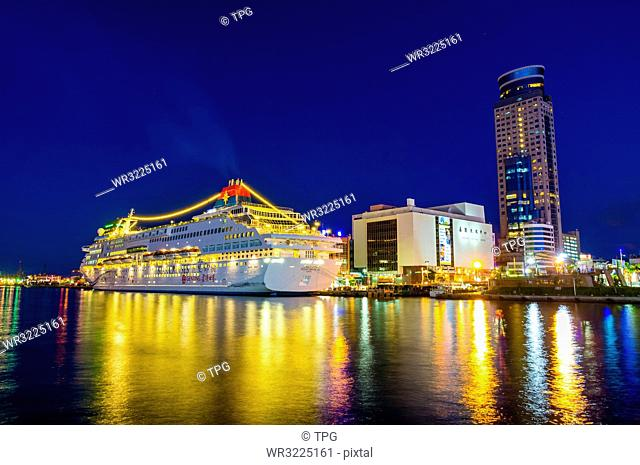 Taiwan;Keelung City;Keelung;Keelung Harbor;Ocean Plaza Harbor Observation Deck;Port;Commercial port