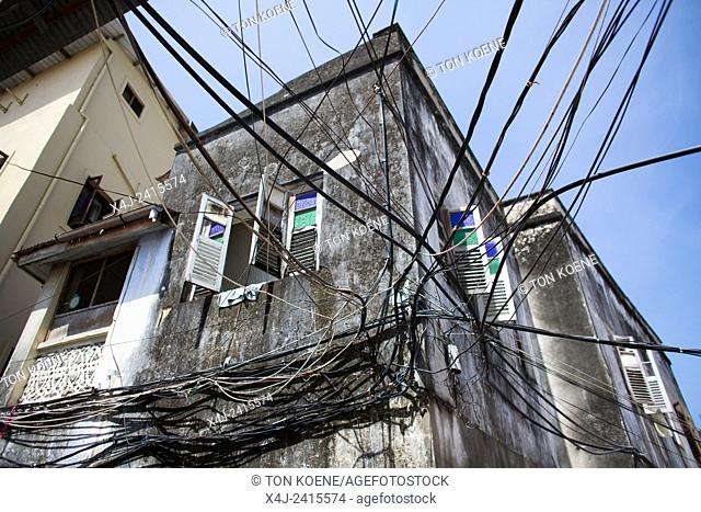 poor electrical wiring in zanzibar