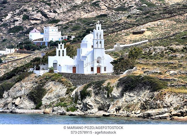 Naxos church, Cyclades Islands, Greece